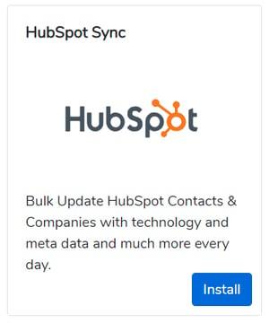 builtwith-hubspot-integration