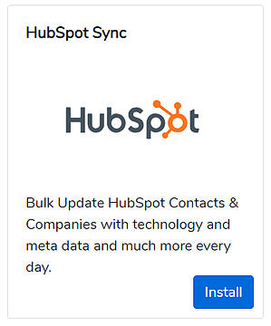 builtwith-hubspot-integration