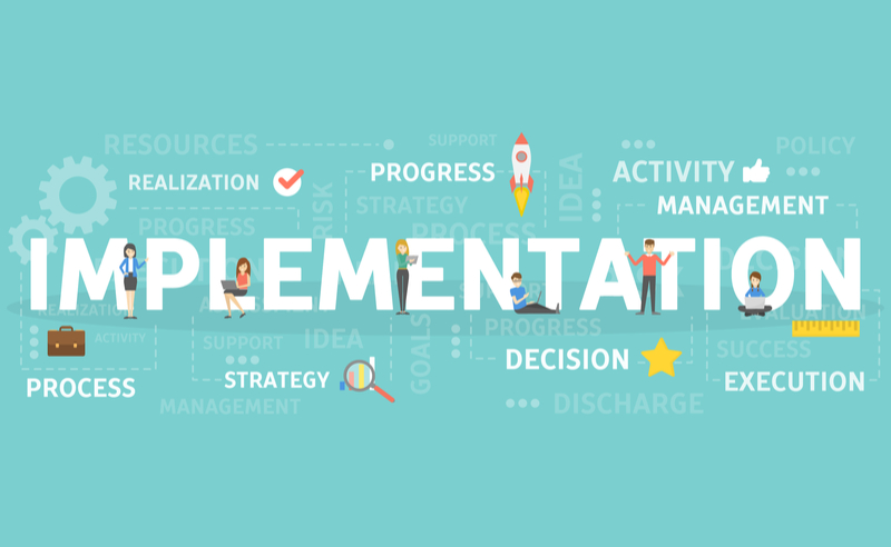 how to successfully implement a strategic marketing plan
