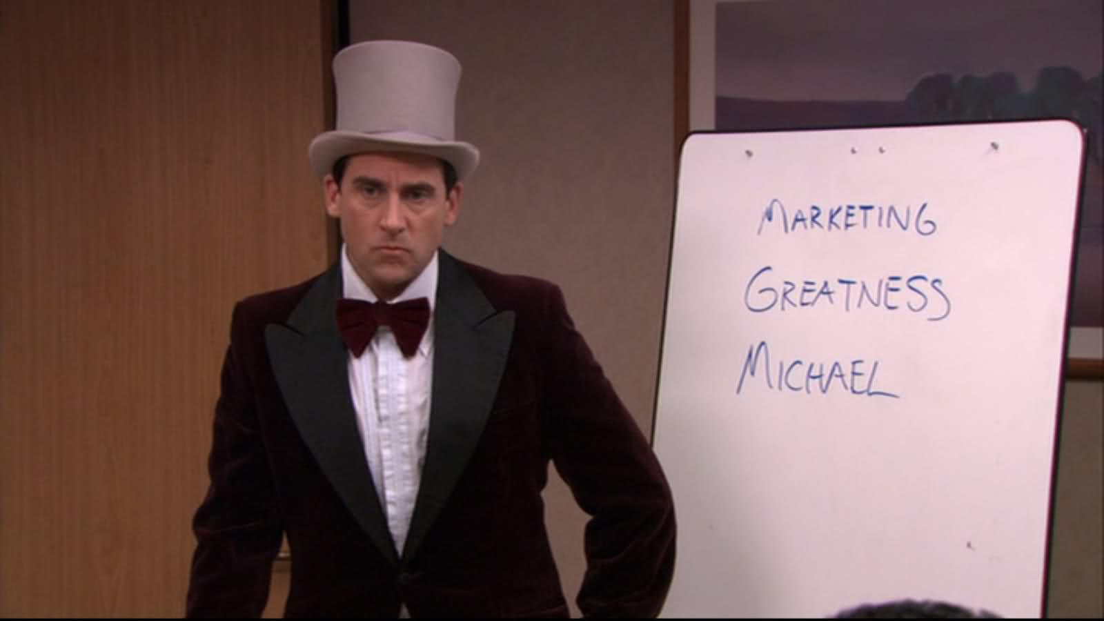 Marketing Greatness Michael