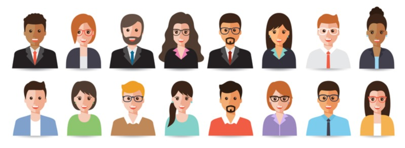 personalization in marketing with diverse group of people
