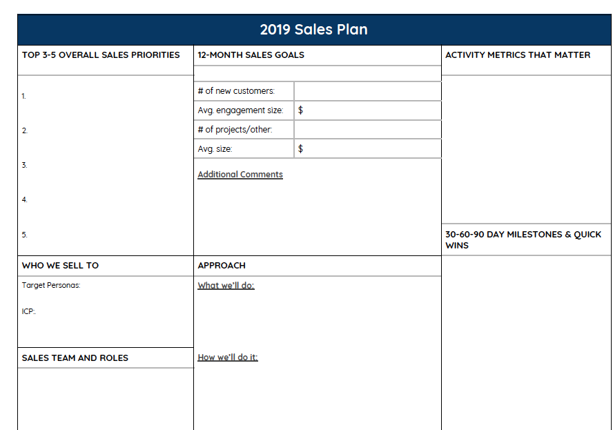 2019 sales plan template-1