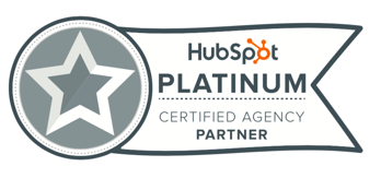 HubSpot Platinum Certified Agency Partner Badge