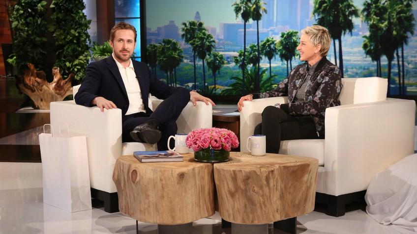 ellen-interviewing-ryan-gosling
