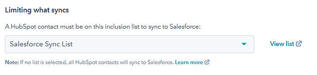 selective-sync-list-hubspot-salesforce-integration